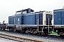 """MaK 1000129 - DB """"211 111-0"""" 11.04.1989 - Heilbronn, BahnbetriebswerkErnst Lauer"""