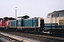 "MaK 1000132 - DB AG ""212 002-0"" 10.08.1994 - Lübeck, BetriebswerkBart Donker"
