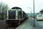 "MaK 1000147 - DB ""212 017-8"" 06.04.1981 Tholey,Bahnhof [D] Manfred Britz"