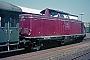 "MaK 1000147 - DB ""212 017-8"" 01.07.1976 - Delmenhorst, PersonenbahnhofBernd Spille"