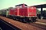 """MaK 1000150 - DB """"212 020-2"""" Sommer1975 - Delmenhorst, BahnhofBernd Spille"""