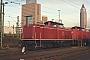 "MaK 1000159 - DB Cargo ""212 023-6"" 28.11.2001 - Frankfurt (Main)Marvin Fries"