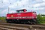 """MaK 1000160 - DB Services """"212 024-4"""" 28.06.2008 Hamm(Westfalen),Hauptbahnhof [D] Robert Krätschmar"""