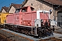"MaK 1000169 - DB AG ""714 001-5"" 05.10.1997 Fulda,Bahnbetriebswerk [D] Ernst Lauer"