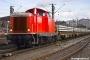 """MaK 1000172 - DB Services """"212 036-8"""" 19.01.2008 - Thayngen, BahnhofReinhard Reiss"""