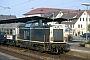 "MaK 1000178 - DB ""212 042-6"" 16.03.1991 Schorndorf,Bahnhof [D] Ingmar Weidig"