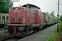 """MaK 1000179 - DB """"212 043-4"""" 16.07.1988 Altomünster,Bahnhof [D] Norbert Schmitz"""
