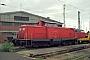 """MaK 1000187 - DB Cargo """"212 051-7"""" 01.09.2002 - Gießen, BahnbetriebswerkMarvin Fries"""