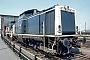 """MaK 1000189 - DB """"212 053-3"""" 21.07.1990 Darmstadt,Bahnbetriebswerk [D] Ernst Lauer"""