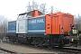 "MaK 1000194 - NBE RAIL ""212 058-2"" 01.03.2012 - DachauMarkus Lohneisen"