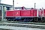 """MaK 1000197 - DB AG """"212 061-6"""" 17.05.1998 Würzburg,Bahnbetriebswerk [D] Ernst Lauer"""