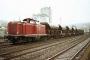 """MaK 1000198 - DB """"212 062-4"""" 30.03.1981 - Lebach, BahnhofManfred Britz"""