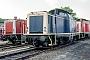 """MaK 1000208 - DB """"212 072-3"""" 30.05.1991 Alzey,Bahnbetriebswerk [D] Ernst Lauer"""