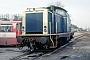 """MaK 1000209 - DB """"212 073-1"""" 28.02.1993 - Alzey, BahnbetriebswerkErnst Lauer"""