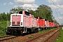 """MaK 1000212 - DB Services """"212 076-4"""" 10.05.2008 Cottbus,Ausbesserungswerk [D] Benjamin Triebke"""