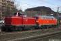 """MaK 1000220 - DBK """"212 084-8"""" 19.01.2008 Thayngen,Bahnhof [D] Reinhard Reiss"""
