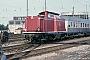 "MaK 1000228 - DB ""212 092-1"" 09.08.1986 NeustadtanderWeinstraße,Bahnhof [D] Ingmar Weidig"