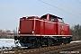"MaK 1000229 - DB Services ""212 093-9"" 16.01.2009 - Maintal-OstAlbert Hitfield"