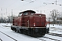 """MaK 1000229 - DB Fahrwegdienste """"212 093-9"""" 07.01.2010 Guben,Bahnhof [D] Frank Gutschmidt"""