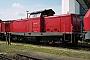 """MaK 1000230 - DB Cargo """"212 094-7"""" 23.07.2003 Mühldorf,Bahnbetriebswerk [D] Dietrich Bothe"""