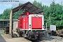 """MaK 1000283 - DB AG """"214 236-2"""" 09.08.1991 Kassel,AW [D] Norbert Schmitz"""