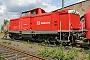 """MaK 1000292 - DB AG """"714 006-4"""" 31.05.2004 Darmstadt,Bahnbetriebswerk [D] Ernst Lauer"""