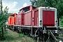 """MaK 1000292 - DB AG """"714 006-4"""" 31.05.1998 Würzburg,Bahnbetriebswerk [D] Ernst Lauer"""