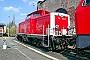 """MaK 1000293 - DB AG """"714 007-2"""" 13.04.2004 Darmstadt,Bahnbetriebswerk [D] Ernst Lauer"""