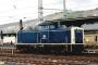 """MaK 1000301 - DB """"212 254-7"""" 13.02.1990 Betzdorf,Bahnhof [D] Frank Becher"""