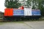 """MaK 1000303 - NbE """"212 256-2"""" 19.08.2006 Aschaffenburg,Hafenbahnhof [D] Bernd Schumacher"""