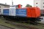 """MaK 1000303 - NbE """"212 256-2"""" 21.08.2006 Aschaffenburg,Hafenbahnhof [D] Torsten Sewerin"""