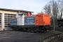 """MaK 1000303 - NbE """"212 256-2"""" 29.12.2006 - Aschaffenburg, HafenbahnhofKarl Arne Richter"""