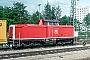 """MaK 1000307 - DB """"214 260-2"""" 07.06.1991 - MannheimErnst Lauer"""