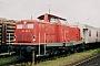 "MaK 1000312 - DB ""212 265-3"" 03.06.2003 Plattling,Bahnhof [D] Leon Schrijvers"