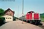 """MaK 1000314 - DB """"212 267-9"""" 30.07.1993 - Oberlenningen, BahnhofNorbert Schmitz"""