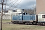 "MaK 1000314 - DB ""212 267-9"" 16.02.1992 Marbach,EVSKraftwerk [D] Werner Peterlick"