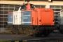"""MaK 1000317 - NbE """"212 270-3"""" 29.12.2006 - Aschaffenburg, HafenbahnhofKarl Arne Richter"""
