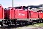 """MaK 1000323 - DB AG """"212 276-0"""" 12.08.2001 Mühldorf,Betriebshof [D] Frank Weimer"""