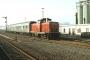 """MaK 1000329 - DB """"212 282-8"""" 29.12.1988 - Lebach, BahnhofManfred Britz"""