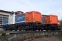 """MaK 1000344 - NbE """"212 297-6"""" 29.12.2006 - Aschaffenburg, HafenbahnhofKarl Arne Richter"""