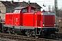 """MaK 1000345 - DB Fahrwegdienste """"212 298-4"""" 24.01.2009 - Darmstadt-KranichsteinBernd Ott"""