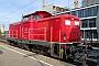 "MaK 1000345 - DB Fahrwegdienste ""212 298-4"" 07.05.2019 Karlsruhe,Hauptbahnhof [D] Wolfgang Rudolph"