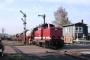 """MaK 1000348 - EBM Cargo """"212 301-6"""" __.__.2004 Staffel,Bahnhof [D] Michael Ruge"""