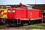 """MaK 1000357 - DB Services """"212 310-7"""" 06.08.2008 Cottbus,Ausbesserungswerk [D] Sven Hohlfeld"""