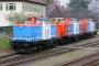 """MaK 1000358 - NbE """"212 311-5"""" 13.04.2006 - Aschaffenburg, HafenbahnhofTorsten Sewerin"""