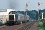 "MaK 1000363 - DB ""212 316-4"" 09.08.1989 - Lendersdorf, BahnhofIngmar Weidig"