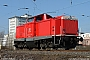 """MaK 1000364 - DB Fahrwegdienste """"212 317-2"""" 31.03.2009 Frankfurt-Ost [D] Albert Hitfield"""