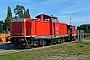 """MaK 1000364 - DB Fahrwegdienste """"212 317-2"""" 19.09.2009 - Cottbus, AusbesserungswerkJörg Flecks"""