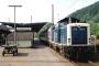 """MaK 1000369 - DB """"212 322-2"""" 27.06.1989 Finnentrop,Bahnhof [D] Frank Becher"""