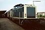 """MaK 1000369 - DB """"212 322-2"""" 17.08.1988 - Bocholt, BahnhofThomas Böking"""
